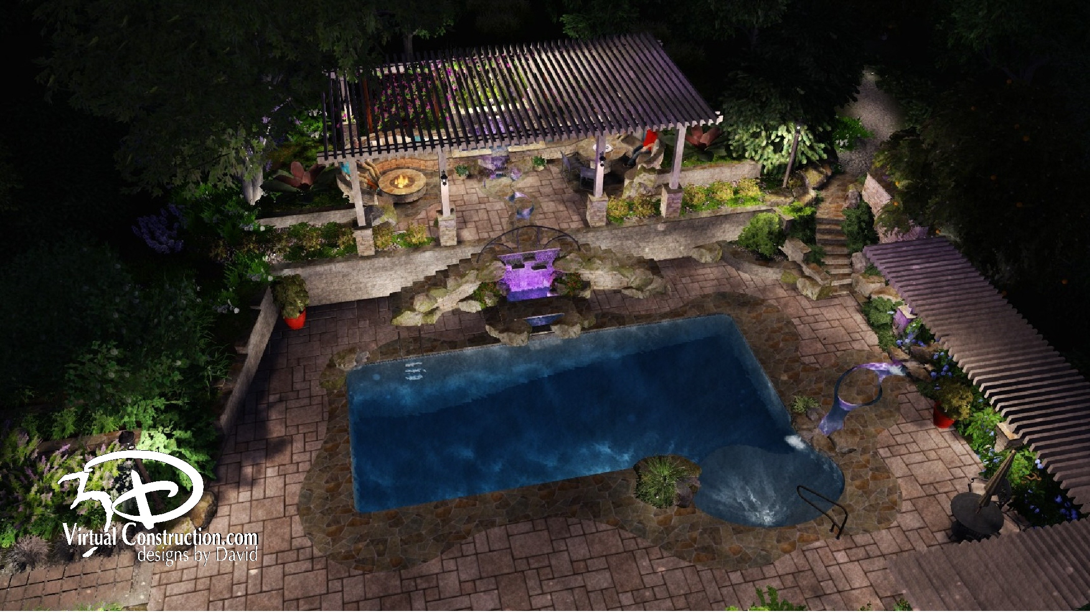 Aquascape / Pools | 3D Designs By David